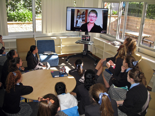 Image of Skype readings with Zenobia Frost at Wilderness School