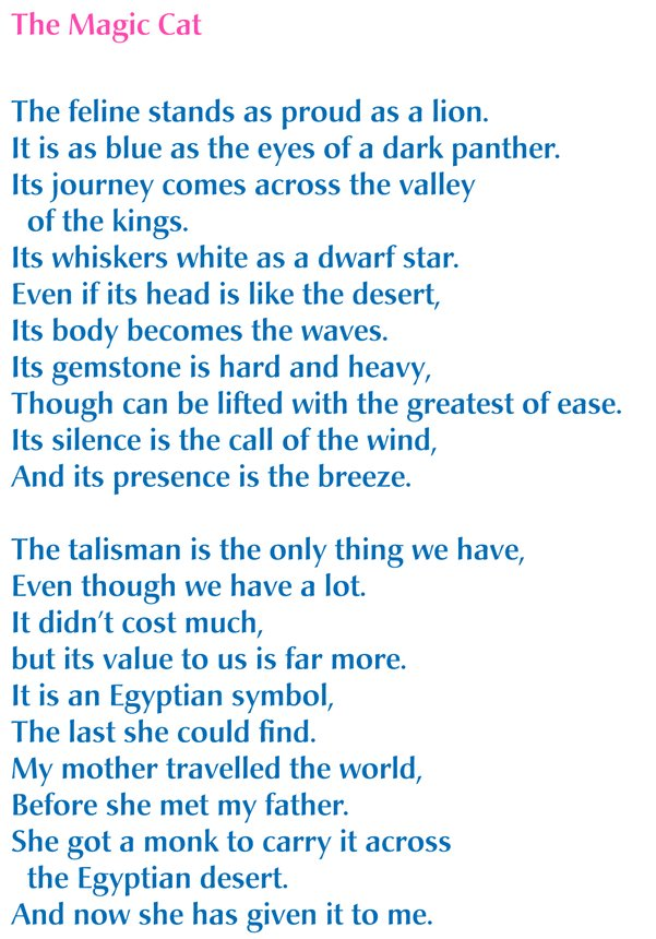 Overall Winning poem of The Dreamcatcher Poems