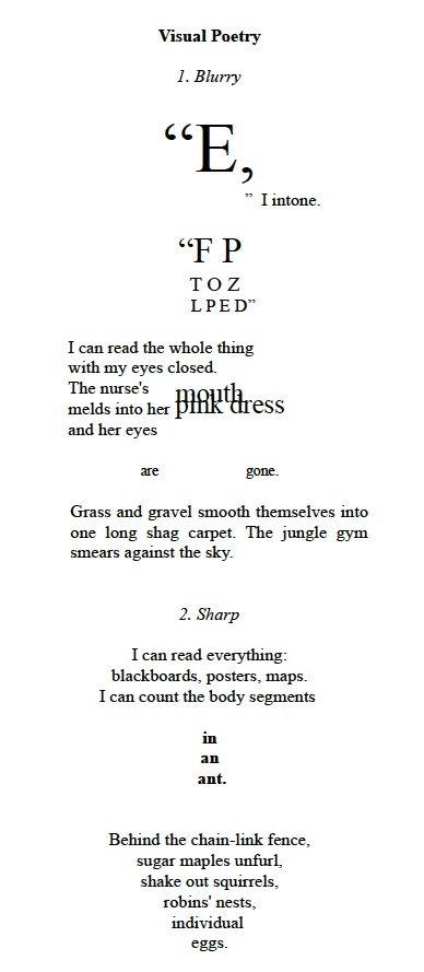 Visual Poetry New Australian Poetry Contemporary